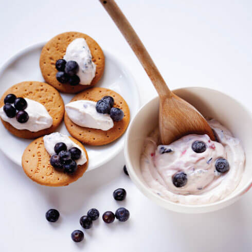 ricotta-blueberry-bites