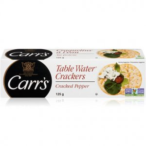 Carrs Table Water Crackers Cracked Pepper