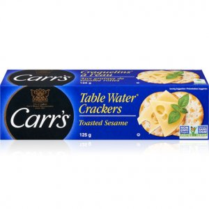 Carrs Table Water Crackers Toasted Sesame
